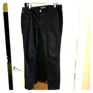 LRL Lauren Jeans Co. Black Jeans